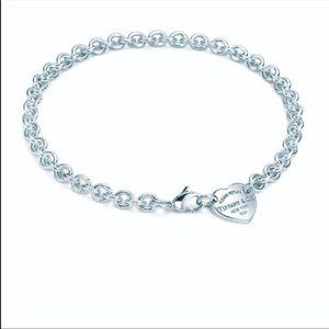 Tiffany & Co Heart Tag Choker